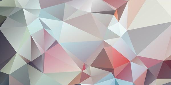 بالا رایگان - پس زمینه با وضوح هندسی چند ضلعی