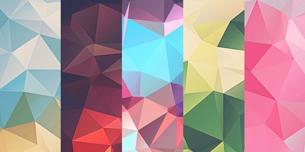 Free Low Poly Polygonal Textures