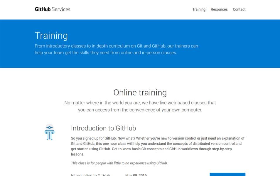 GitHub Online Training