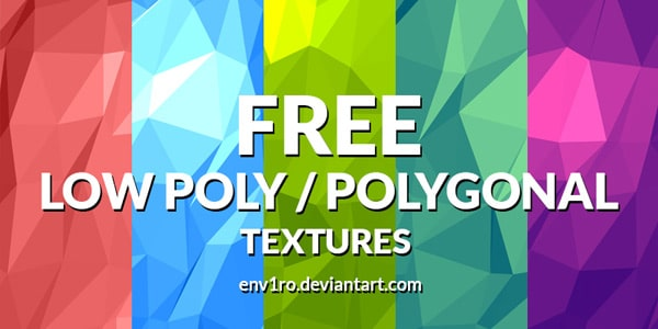 Low Poly Background Textures