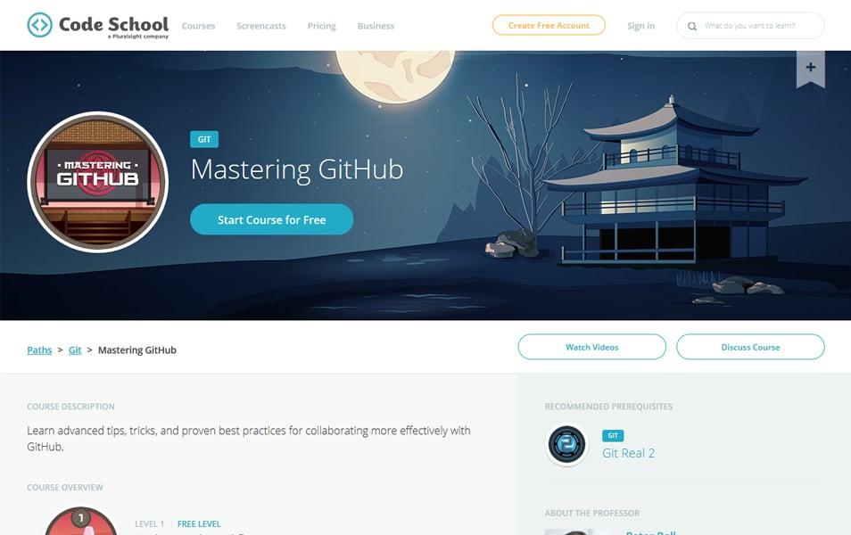Mastering GitHub