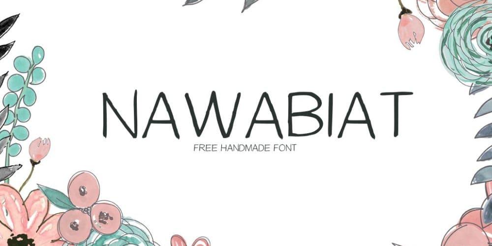 Nawabiat-Font
