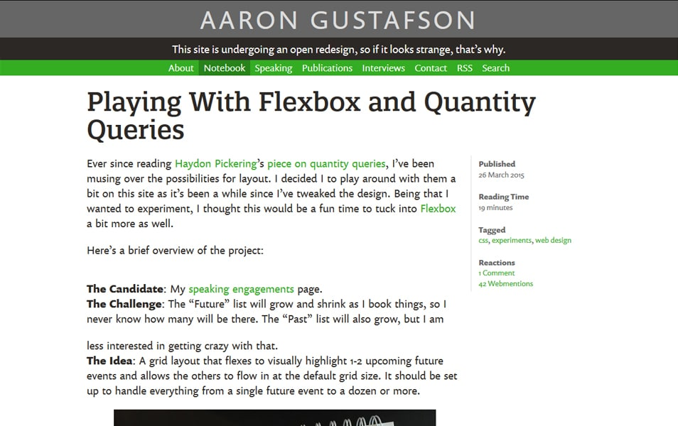 Playing With Flexbox and Quantity Queries