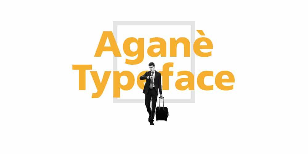 Agane Typeface