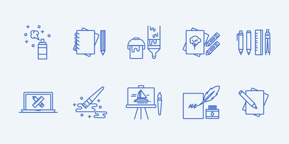 Art and Design Icons