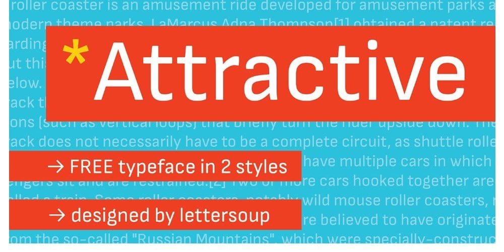 Attractive Typeface