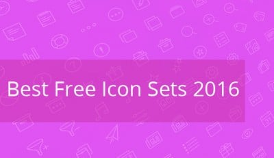 Best Free Icon Sets 2016