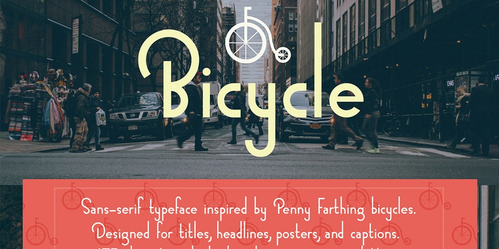 Bicycle Typeface