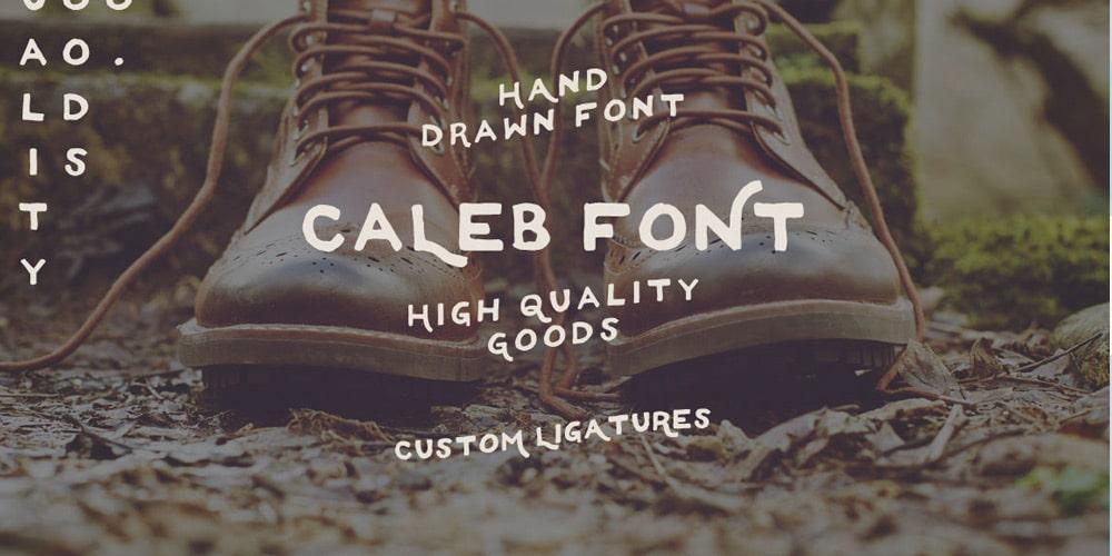 Caleb Free Font