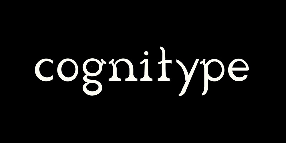Cognitype Typeface