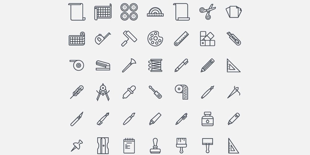 Crafting-Free-Vector-Icons