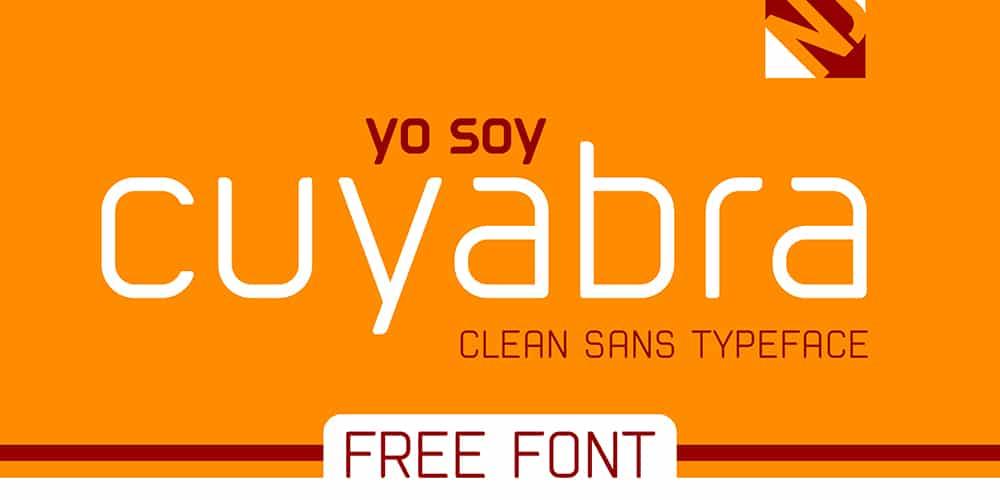 Cuyabra Typeface