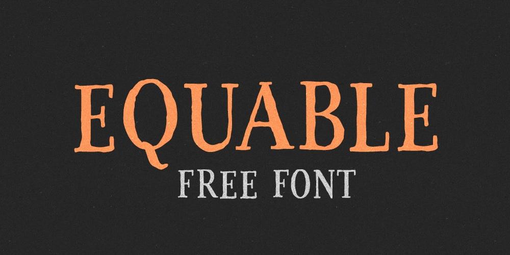 Equable Font