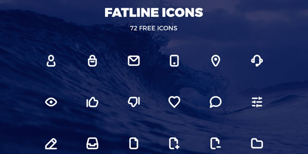 Fatline Free Icons