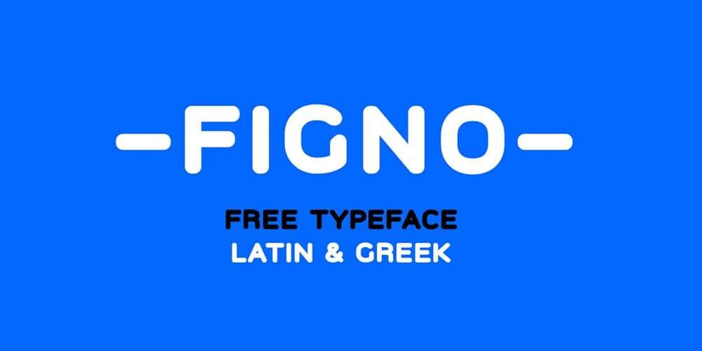 Figno Typeface