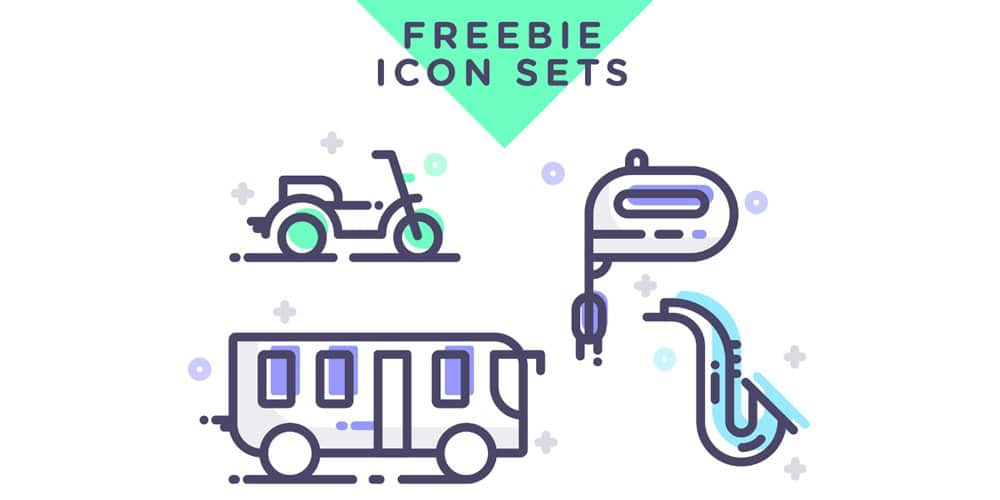 Free Assorted Vector Icons