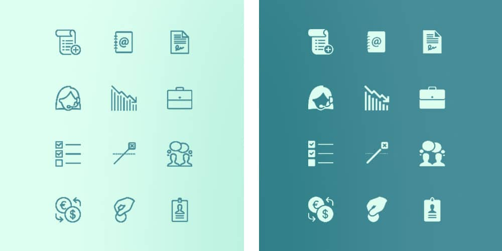 Free Business Icons For IOS