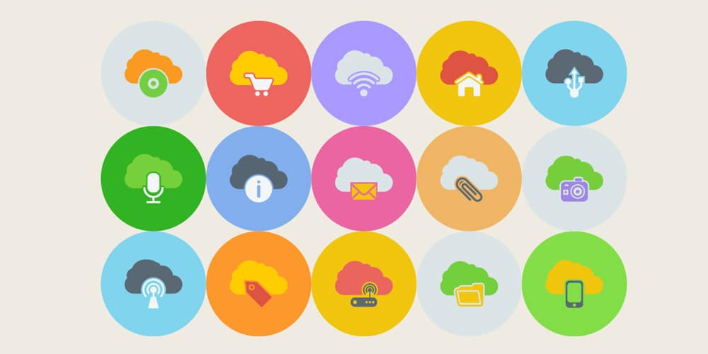 Free Clouds Multimedia Icons