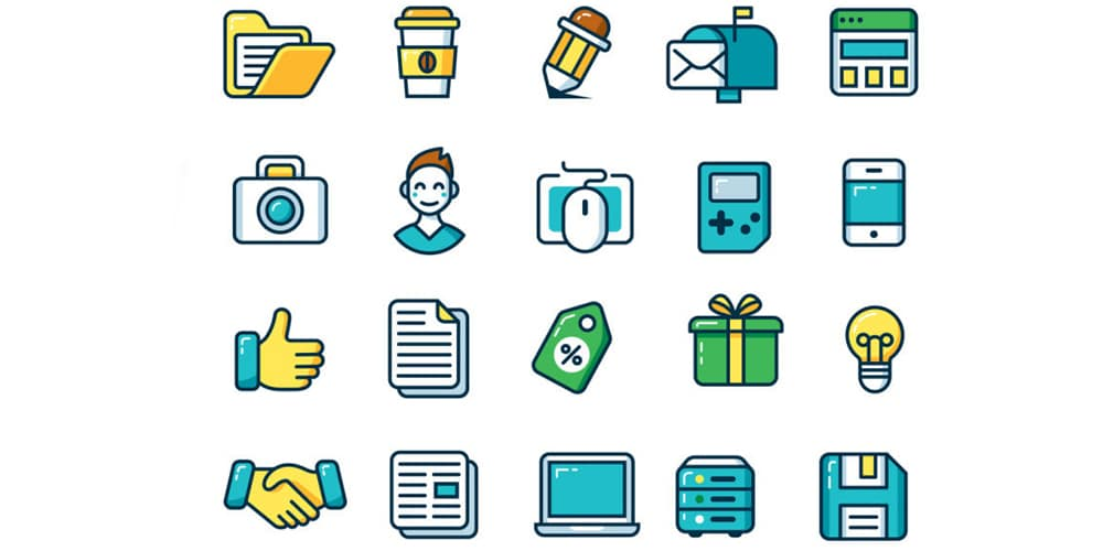 Free Customizable Outline Icons