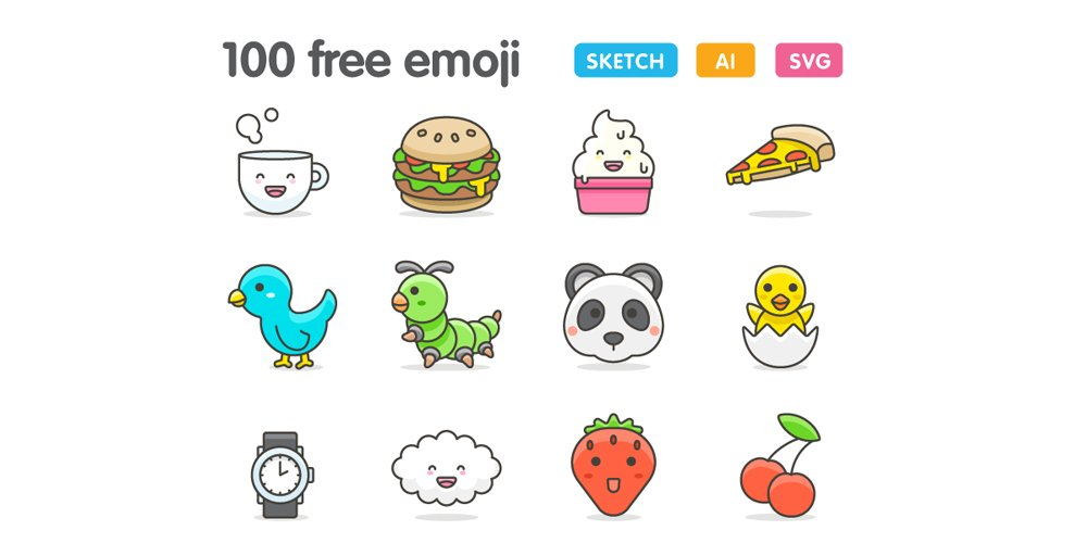 Free Cute Emoji Icons