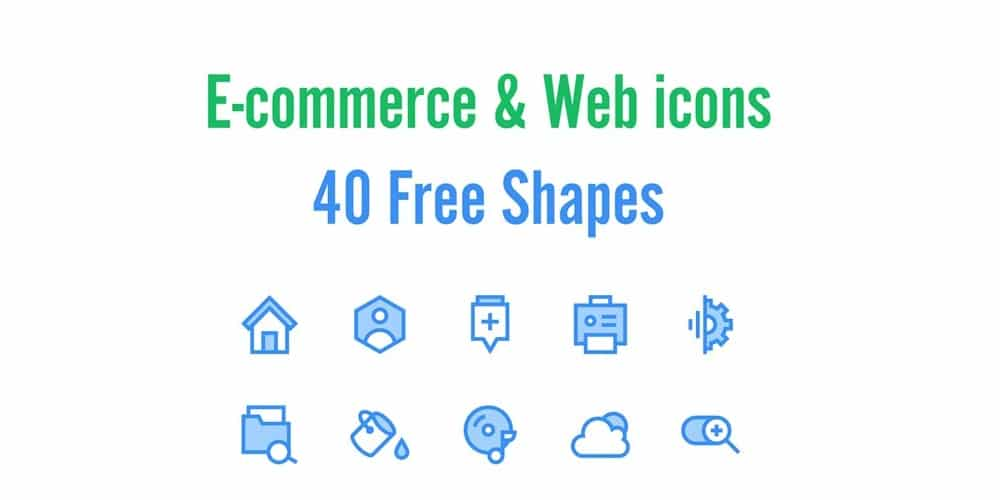 Free E commerce and Web Icons