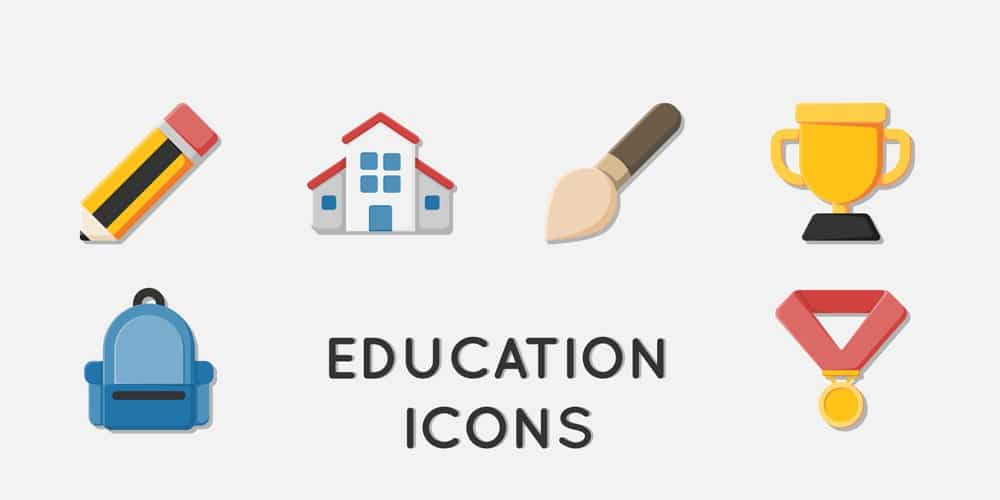 Free Education Icons