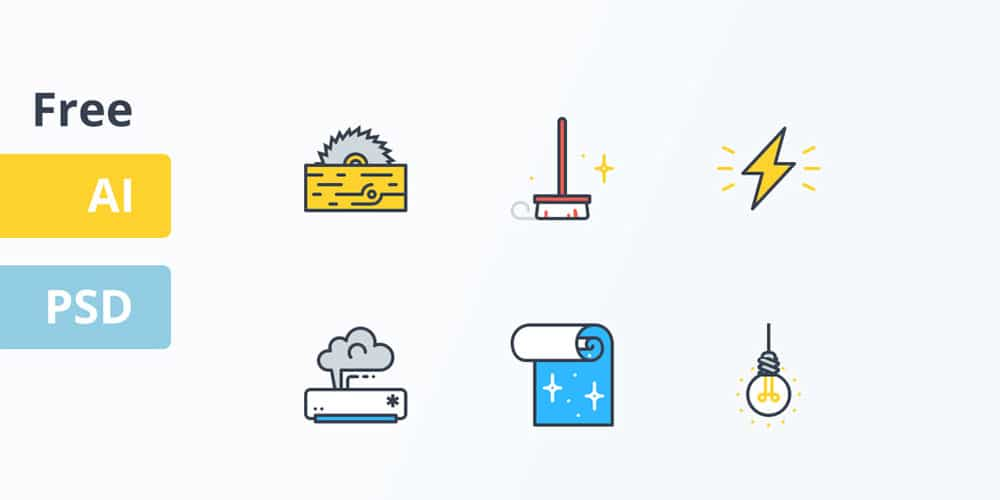 Free-Home-Service-Icons
