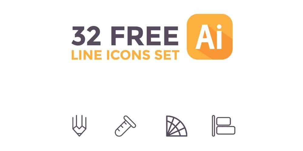 Free Line Icons Vector