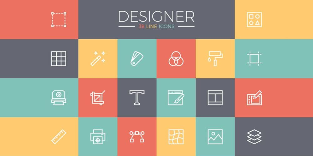 Free Line Icons for Designers