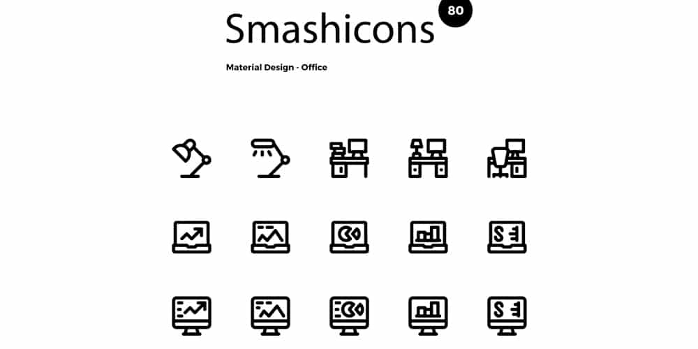 Free Material Office Icons