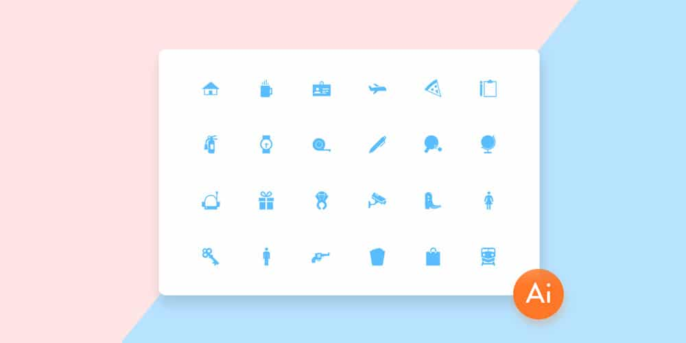 Free Mini Material Icons