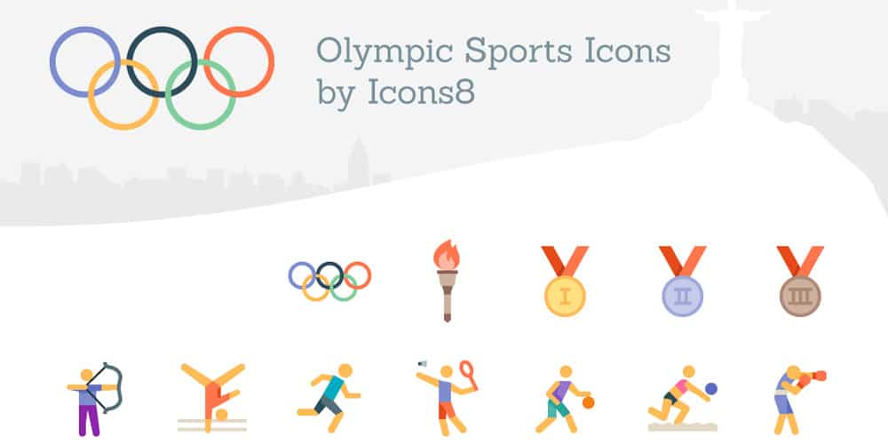 Free-Olympics-Sports-Icons