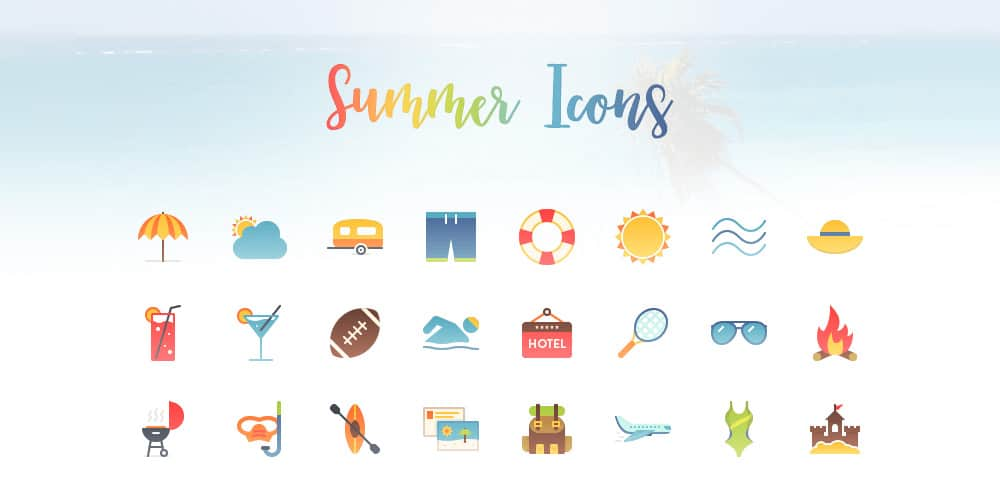 Free-Summer-Icons