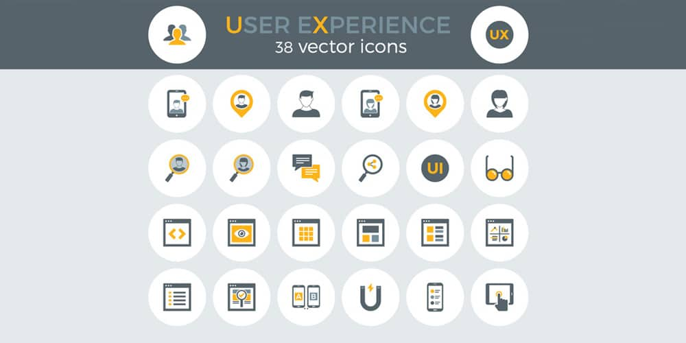 Free User Experince Icons