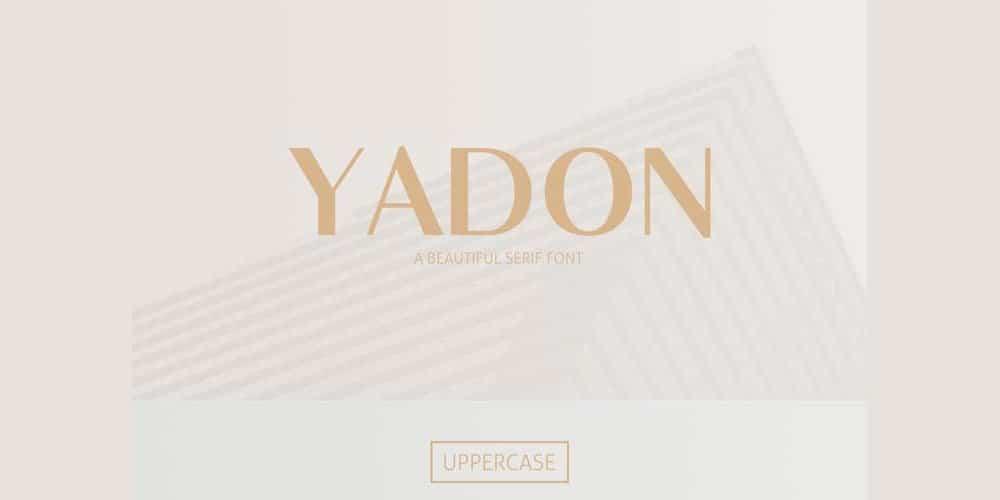 Free Yadon Font