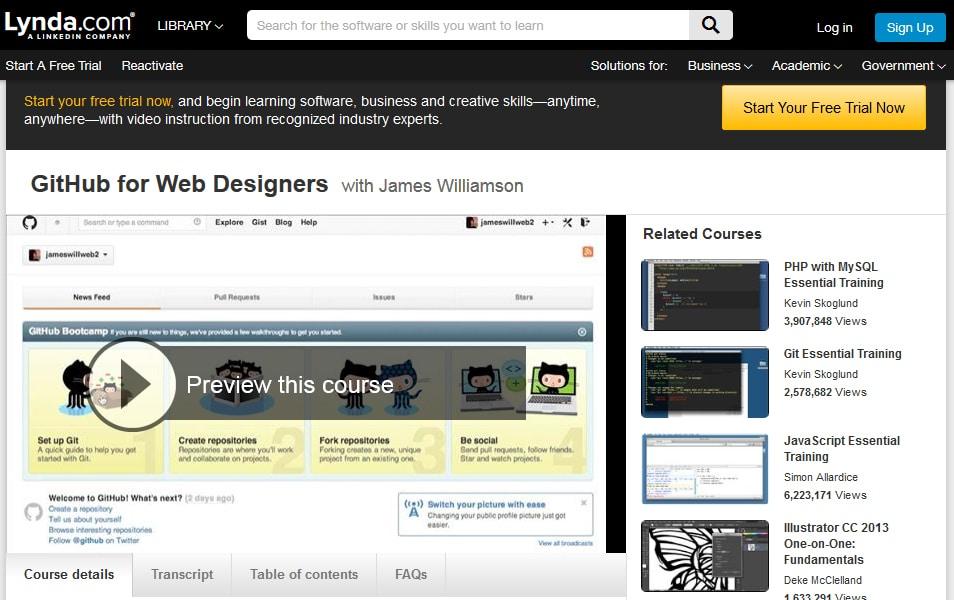 GitHub for Web Designers
