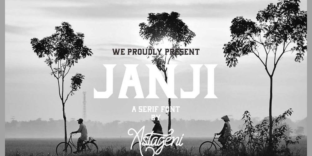 Janji Font