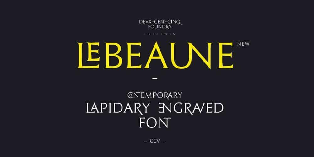 Le Beaune Font
