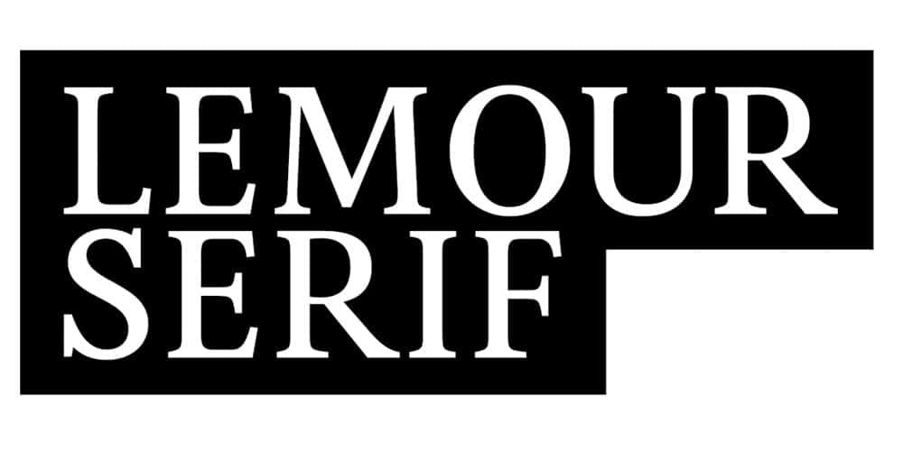 Lemour Serif Font