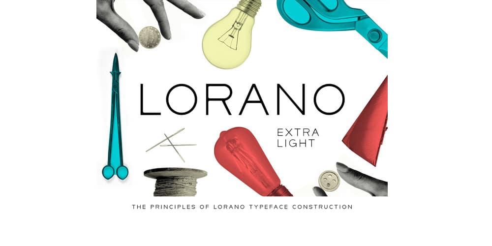Lorano-ExtraLight-Typeface