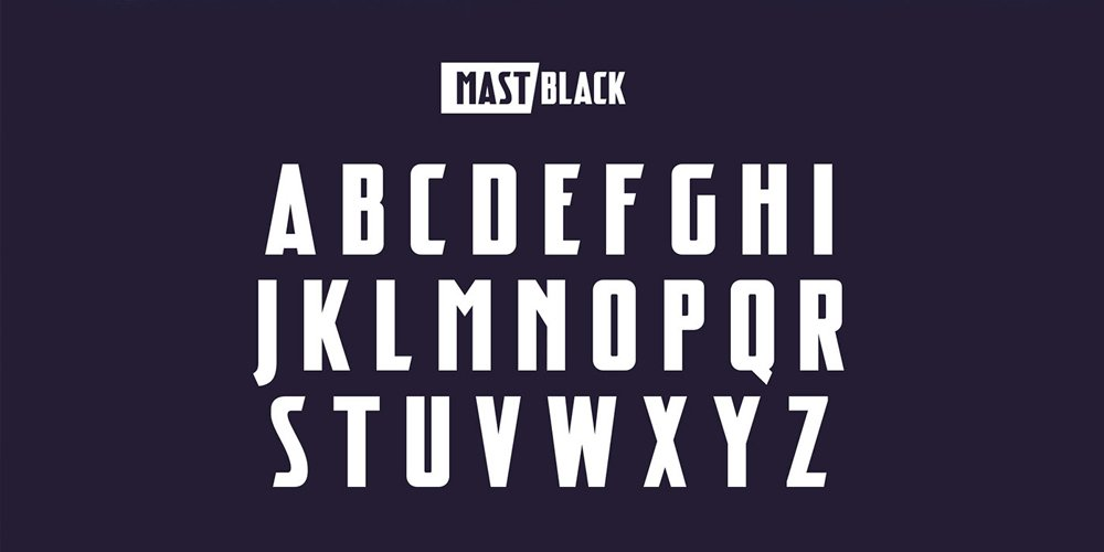 Mast Font