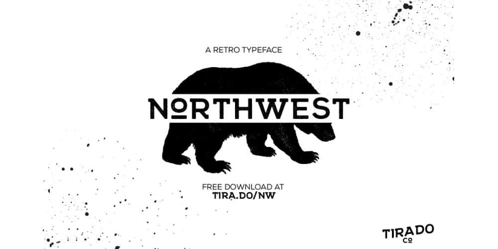 Northwest Typeface