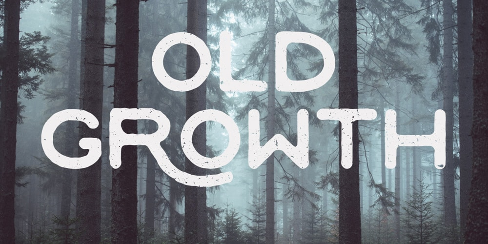 Old-Growth-Font