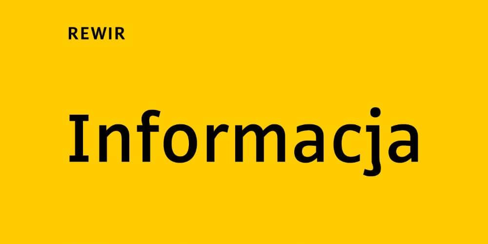 Rewir Typeface