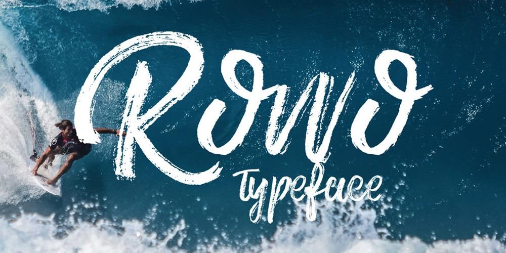 Rowo Typeface