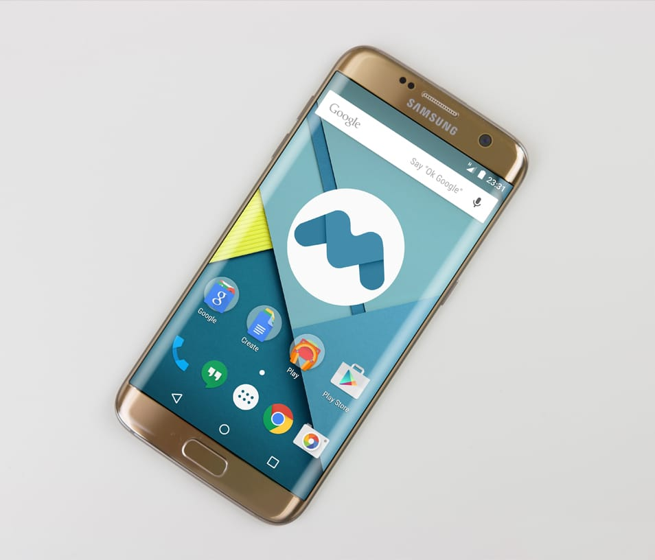 Samsung Galaxy S7 Edge Mockup