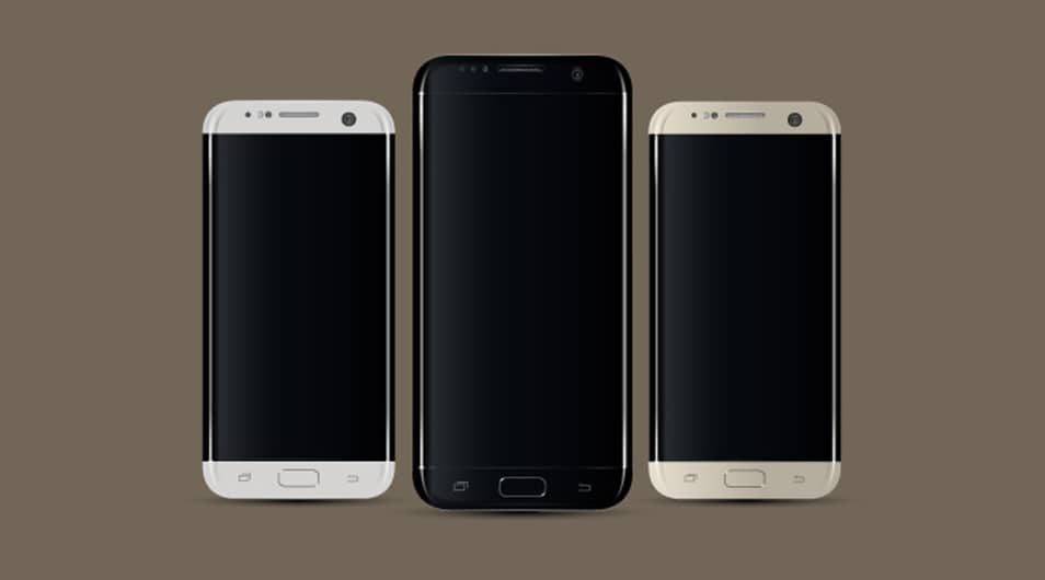Samsung S7 Edge MockUp