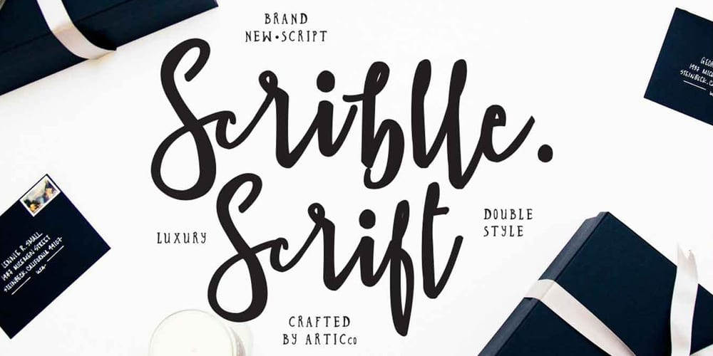 Scriblle Script Font