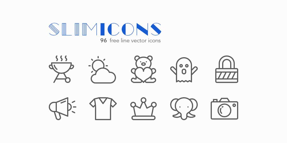 Slimicons
