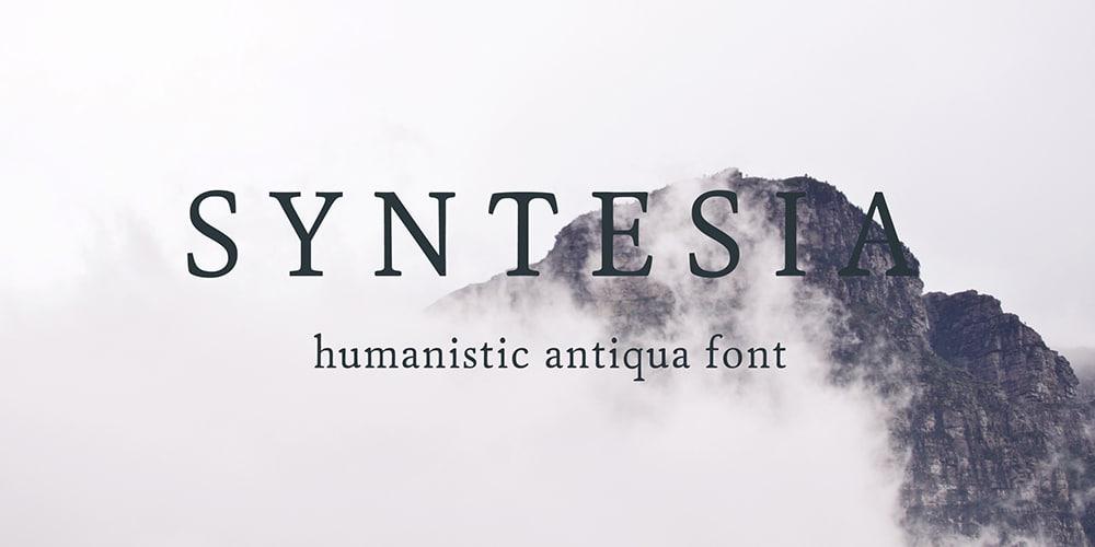 Syntesia Typeface